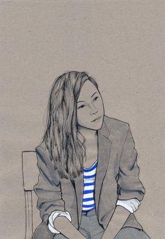 + 2014: Portraits for advertising agency - Daphne van den Heuvel