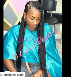 We've gathered our favorite ideas for Small Cornrows H A I R In 2019 Braids Hair Styles, Explore our list of popular images of Small Cornrows H A I R In 2019 Braids Hair Styles in tiny braids with long hair. Black Girl Braided Hairstyles, Black Girl Braids, Braids For Black Hair, Girls Braids, Sporty Hairstyles, Ponytail Hairstyles, Ghana Braids Hairstyles, Lemonade Braids Hairstyles, African Hairstyles