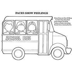 A Great Way To Make Your Kid Love School A Little More Is By Making Him.  More Information. More Information. School Bus Coloring Page