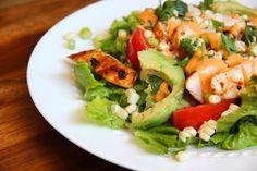 Barbecue Chicken Salad via Alaska from Scratch