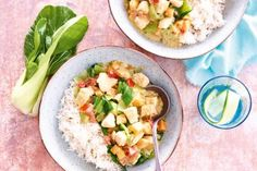 Pittige kipcurry met paksoi en zoete aardappel - Recept - Allerhande - Albert Heijn
