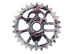 "The Shadow Conspiracy ""Scream 25T"" Sprocket - Flamingo Blood   kunstform BMX Shop & Mailorder - worldwide shipping"