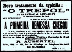 A promessa do fim da sífilis em 1922 com o medicamento TREPOL.