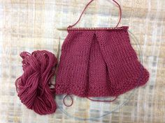 How to...Knit Pleats