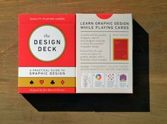 LAST DAY: The Design Deck - Playing Cards for Designers - only $14! - MightyDeals