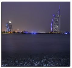 Purple Haze | Just another hazy night in Dubai. Taken from t… | Flickr