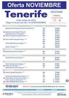 Oferta hoteles en Tenerife, salidas desde Vigo - Noviembre ultimo minuto - http://zocotours.com/oferta-hoteles-en-tenerife-salidas-desde-vigo-noviembre-ultimo-minuto/