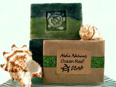 A Hawaiian Soap For Turtle and Ocean lovers, Ocean Reef soap is scented with a…