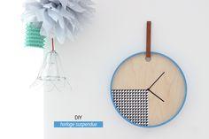 DIY graphic clock Ikea PS 2014 by heju