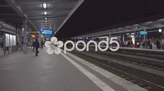4k German ICE train arriving Essen subway station - Stock Footage | by Beckhusen