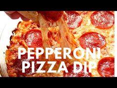 Pepperoni Pizza Dip Recipe - Crunchy Creamy Sweet