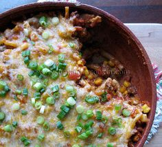 Southwest Ground Beef Casserole | AllFreeCasseroleRecipes.com