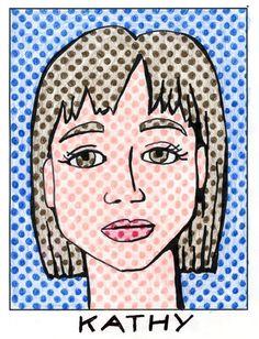 Lichtenstein - includes downloadable Ben-day dot template