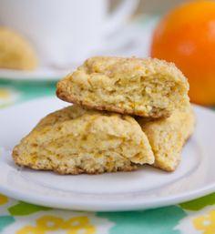 Gluten Free Orange Scones