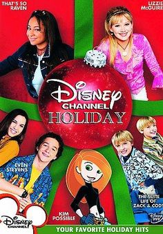 Everyone's favorite Disney Channel characters gather around the mistletoe in this holiday extravaganza. DISNEY CHANNEL HOLIDAY collects festive episodes from the popular shows KIM POSSIBLE, EVEN STEVE