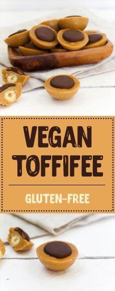 Vegan Toffifee | gluten-free, refined sugar-free http://thetastyk.com