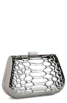 Metal Clutch available at #Nordstrom
