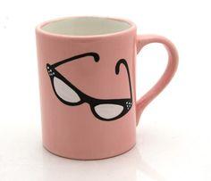 LennyMud, Cat Glasses Mug