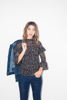 864c5a3cf7 How to Style Gap's Super Slimming Denim for a Night Out - Coveteur.com Party
