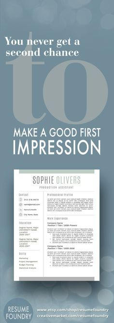59 best Masculine Resume Templates images on Pinterest | Resume ...
