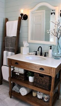 Beautiful Cottage Style Bathroom Cabinets