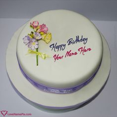 Write Name On Design Wala Birthday Cake Online Picture