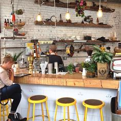 Lovin the rustic airy interiors at #thebutchersdaughter (at The Butcher's Daughter)