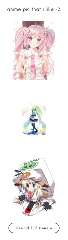 """""""anime pic that i like <3"""" by amberishdead ❤ liked on Polyvore featuring anime, drawings, vocaloid, pictures, filler, manga, fillers, text, quotes and phrase"""