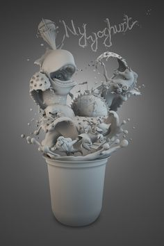 Q-YOGHURT on Behance
