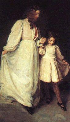 Cecilia Beaux :  Dorothea et Francesca 1898