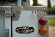 Land Rover series position light views. -//Cars for Adventures - Max Raven
