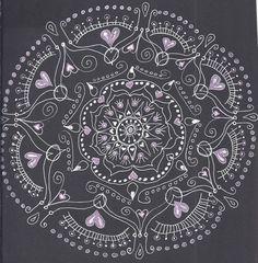 still lonely mandala Zen Words, Pattern Art, Be Still, Lonely, Tatting, Oriental, Personalized Items, Patterns, Mandalas