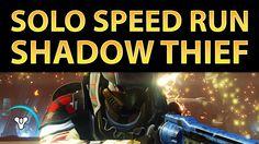 Planet Destiny: The Shadow Thief, Solo Nightfall SPEED Run