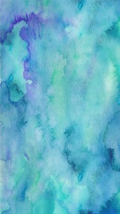 Teal Watercolour wallpaper by - 27 - Free on ZEDGE™ Teal Wallpaper Iphone, Summer Wallpaper, Colorful Wallpaper, Galaxy Wallpaper, Aesthetic Iphone Wallpaper, Watercolor Background, Cool Wallpaper, Aesthetic Wallpapers, Paintings