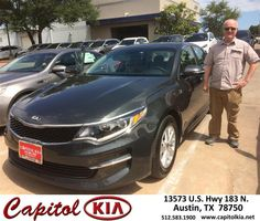 https://flic.kr/p/G614qm | Congratulations Stephen on your #Kia #Optima from Victor Montes at Capitol Kia! | deliverymaxx.com/DealerReviews.aspx?DealerCode=RXQC