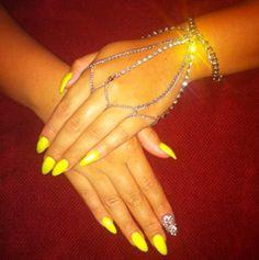 #yellow #nails
