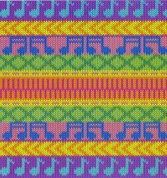 fair isle knit , originally uploaded by melissa lawson . Fair Isle Knitting Patterns, Fair Isle Pattern, Knitting Charts, Knitting Stitches, Knitting Designs, Crochet Quilt, Tapestry Crochet, Crochet Chart, Tunisian Crochet