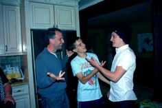 Josh, Connor and their dad...