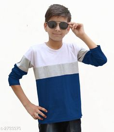 Tshirts & Polos Classy Kid's Boy's Cotton Blend T-Shirt Fabric: Cotton Blend Sleeves: Sleeves Are Included Size: Age Group (4 - 5 Years) - 24 in Age Group (6 - 7 Years) - 28 in Age Group (8 - 9 Years) - 30 in Age Group (10 - 11 Years) - 32 in Age Group (12 - 13 Years) - 34 in   Type: Stitched Description: It Has 1 Piece Of Kid's Boy's T-Shirt Pattern: Solid Country of Origin: India Sizes Available: 3-4 Years, 4-5 Years, 5-6 Years, 6-7 Years, 7-8 Years, 8-9 Years, 9-10 Years, 10-11 Years, 11-12 Years, 12-13 Years   Catalog Rating: ★4 (2649)  Catalog Name: Classy Kid's Boy's Cotton Blend T-Shirt's Vol 4 CatalogID_370464 C59-SC1173 Code: 423-2733370-087
