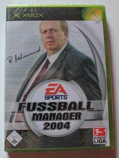 XBOX Fussball Manager 2004 für Xbox in OVP!NEU!