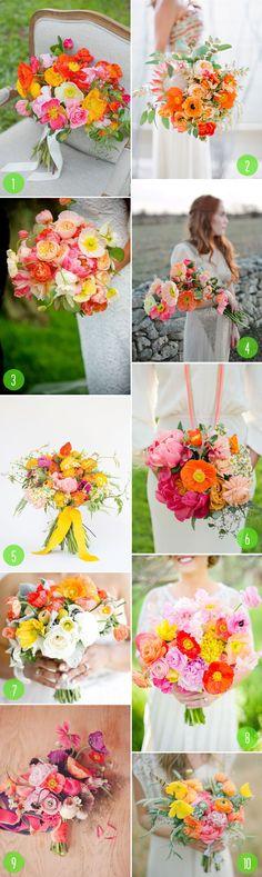 Top 10: Poppy bouquets
