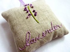 Such a crafty idea for a pillow!