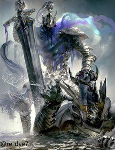 Artorias The Abysswalker,DS персонажи,Dark Souls,фэндомы,re-dye,artist,Silver Knight