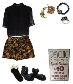 """""""14 : 35"""" by fourruredesbois ❤ liked on Polyvore featuring T By Alexander Wang, Oasis, My Mum Made It, Electric Picks and ASOS"""