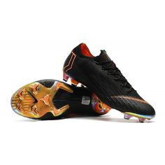 d620dc27a Nike Soccer Shoes For Girls - Kids Nike Mercurial Vapor XII 360 Elite FG  Total Orange White Black - Youth Cleats - Firm Ground - Kids Size 35