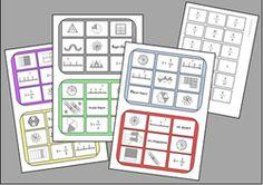 Mon bingo des fractions … Plus Math 5, 5th Grade Math, Teaching Math, Fractions Decimals And Percentages, Math Fractions, Comparer Des Fractions, Cap Maths, Math Blocks, Math Division