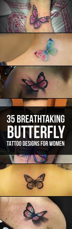 Breathtaking Butterfly Tattoo Designs | TattooBlend
