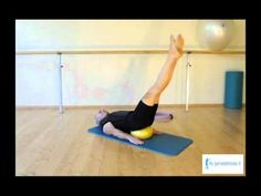 Pilates Con Soft Ball - Foot Work - YouTube