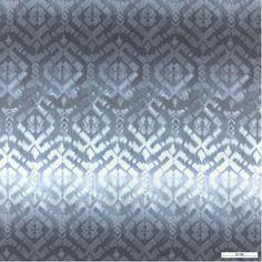 815798 Mikrofiber Blau/Grau Muster