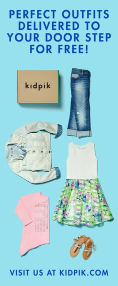 Meet Kidpik, the first ever KIDS CLOTHING SUBSCRIPTION BOX for girls ages 4-14! How does it work? Create a Style Profile for your daughter and choose your own budget and box frequency. Then sit back and relax as your expertly edited, customized, high quality kids ensembles arrive at your doorstep for free! No need to lug around shopping bags or spend hours on the internet looking for kid clothes, Kidpik is the ultimate kids clothing solution. Free Shipping and Easy Free Returns…